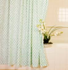 Coastal Shower Curtain by Country Style Shower Curtains Aqua Shower Curtain Hand Block