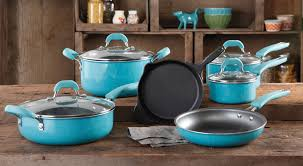 cookware black friday vintage speckle u201d nonstick cookware the pioneer woman