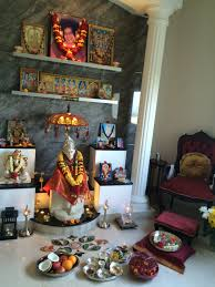 Decoration For Puja At Home by Guru Purnima Puja For Bhagavan Sri Sathya Sai Baba Premaarpan