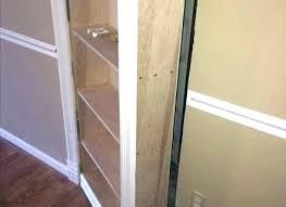 Bookcase Closet Doors Closet Door Closet Door Bookcase Bookcase Build
