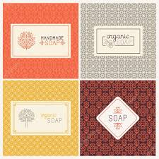paper wrapped soap soap packaging and wrapping paper stock vector venimo 87465506