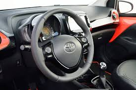 aygo toyota aygo interior with x touch youtube