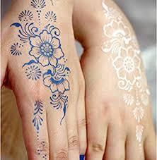 amazon com gc india henna style hand leg neck arm temporary