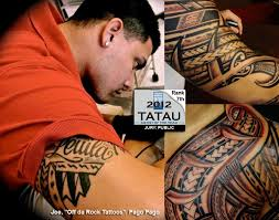 2012 artist of the year 7th place polynesian tattoo awards