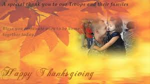 a thanksgiving day thank you to our troops and families