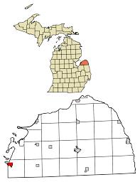 Michigan Breweries Map by Sebewaing Michigan Wikipedia