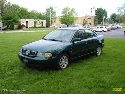 1997 a4 audi cactus green metallic 1997 audi a4 1 8t quattro sedan exterior