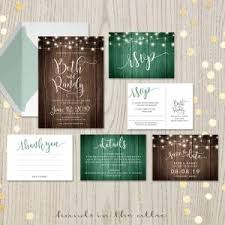 wedding stationery sets printable wedding invitation sets browse collection