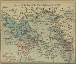 Blank Map Of Ancient Greece Maps Ancient Greece Map 500 Bc