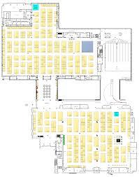 chirpe scaa expo 2017 floorplan