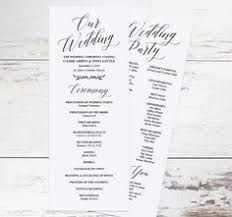 make your own wedding program use your home computer to create your own wedding programs our