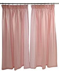 Pink Gingham Curtains Pink Gingham Curtains Baby Nursery Window