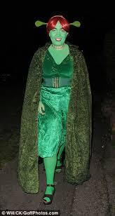 Fiona Halloween Costume David Walliams Dresses Trump Jonathan Ross U0027 Halloween Party