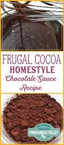 cocoa based homestyle chocolate sauce recipe chocolate sauce