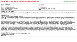 Sample Resume For Encoder by Data Collector Application Letters