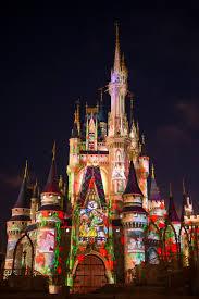 Cinderella Castle Floor Plan Magic Kingdom Park U0027s Nighttime Castle Projection Show Celebrate