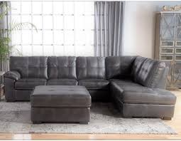 Tufted Sectional Sofas Cheers Sofa 5312 Tufted Sectional With Bumper Chaise Westrich