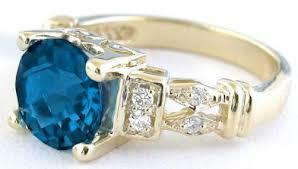 gold topaz rings images London blue topaz rings in 14k yellow gold gr 6040 jpg