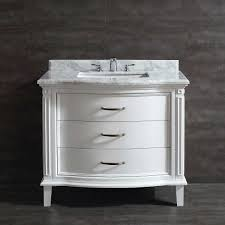 White Vanity Bathroom by Vanities Costco