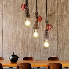Vintage Dining Room Lighting Industrial Style Dining Room Lighting Loft Style Water Pipe L