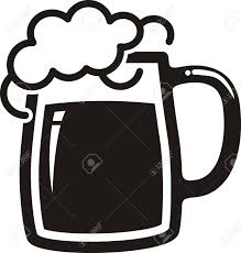 cartoon beer black and white beer mug royalty free cliparts vectors and stock illustration