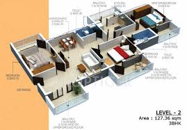 1413 sq ft 3 bhk 3t apartment for sale in nanu estates sapna