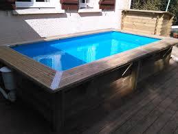 petite piscine enterree les piscines en bois en photo