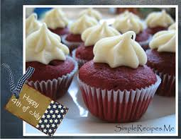 color your recipes u2013 mini red velvet cupcakes and happy 4th of july