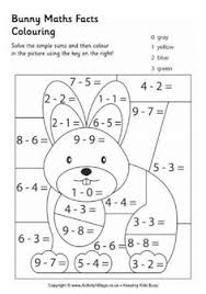 coloring pages math worksheets color by number for kids bing images matemática pinterest