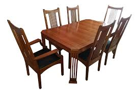 Dining Room Sets 6 Chairs by Stickley 21st Century Collection Dining Table Set With 6 Chairs