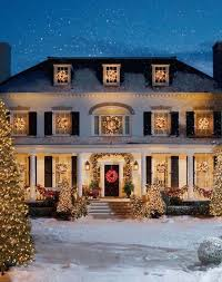 we will put a lot of christmas lights on our house and when i say