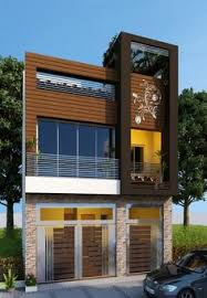 row house driverlayer search engine house plan house elevation indian compact pinterest house