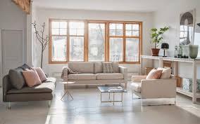 großes bild wohnzimmer großes wohnzimmer einrichten fensterfront sideboar couchstyle