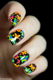 109 best butterfly nails images on pinterest butterfly nail art
