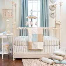Seashell Crib Bedding Crib Bedding Set Serenity Seafoam Aquamarine Sand