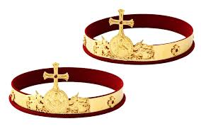 orthodox wedding crowns orthodox wedding crowns istok church supplies corp