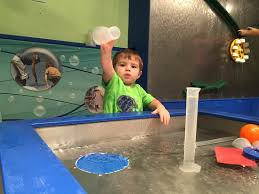 water tables at the kids play area picture of oregon museum of