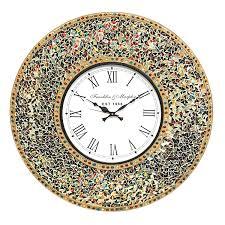 decorshore 23 u201d decorative wall clock silent clock with decorative