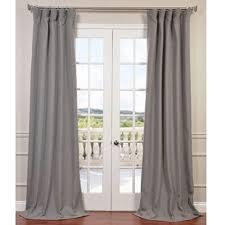 Heavy Grey Curtains Heavy Linen Curtains Wayfair