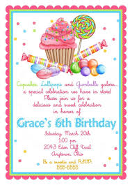 design stylish 6th birthday invitation wording samples with idea
