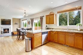 kitchen room open floor plan kitchen and living room pictures