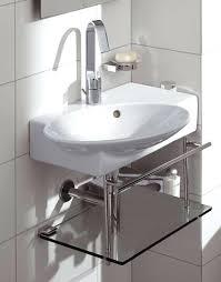 Vessel Pedestal Sink Contemporary Powder Room Idea In Boston With A Vessel Sinkcorner