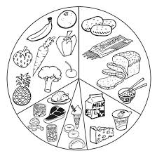 Food Coloring Pages List Healthy Food Coloring Page Vitlt Com Food Color Pages