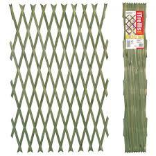 brass pinned garden trellis 1 8m x 0 6m expanding trellis