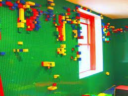 bricks walls lego wall kids room lego room wall paint interior