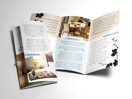 fancy brochure templates indesign brochure templates free template