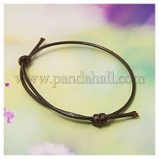 bracelet cord images Wholesale korea cotton wax cord bracelet making adjustable JPG