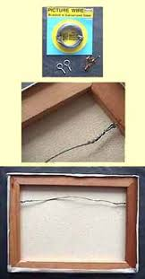 how to hang canvas art without frame how to wire a painting canvas for hanging without a frame tips