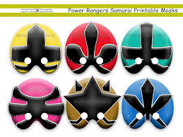 unique power rangers samurai printable holidaypartystar