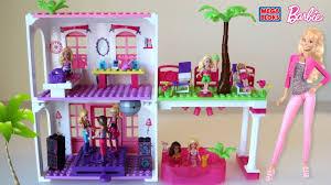 mega bloks barbie beach house barbie lego dollhouse youtube
